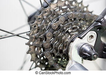 Old bicycle gear