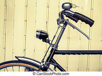 Old bicycle (vintage effect style
