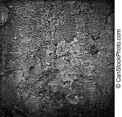Old black and white stone background