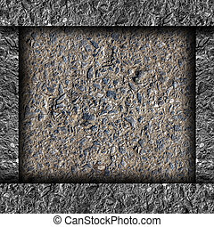 old black asphalt texture background space for text