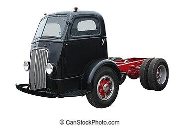 Old Black Cab Over