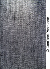 Old Black jeans fabric as background