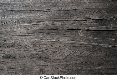 Old black wood texture background.