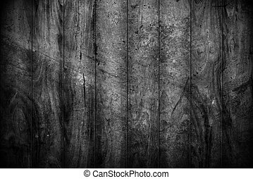 old black wood texture for background