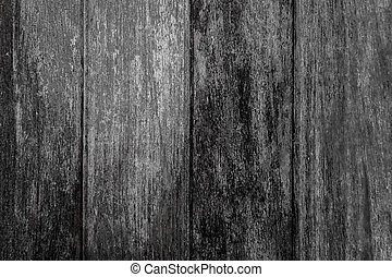 Old black wood texture for background.