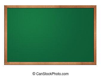 old blank blackboard