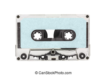 Old Blue Blank Cassette Tape
