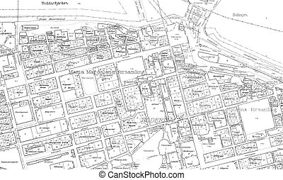 Old blueprint illustrations and clip art 836 old blueprint royalty old blueprint of part stockholm old blueprint of of the malvernweather Gallery