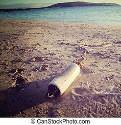 fender on the beach