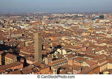 Old Bologna, Italy.