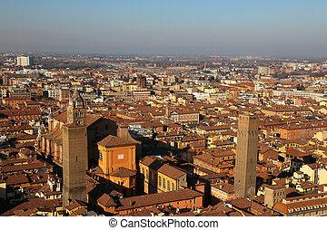 Old Bologna. Italy.