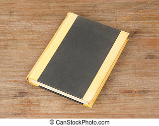 Old book isolated