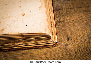 Old book pages
