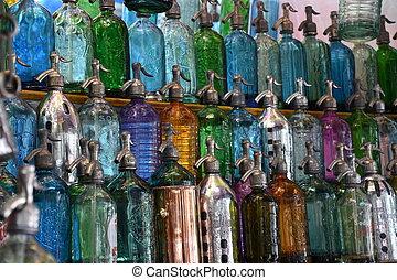 Old bottles - Old fashioned bottles