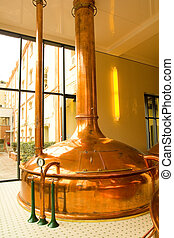 Old brewery - Old style of brewing beer.