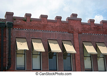 Old Brick and Awnings 2