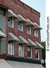Old Brick and Awnings 3