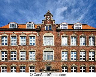 Old brick architecture