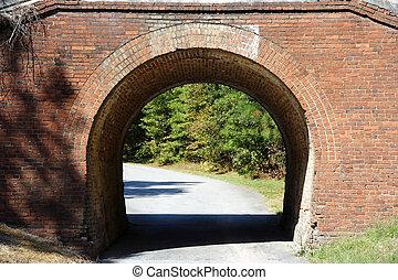 Old Brick Bridge