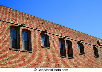 Old Brick Building