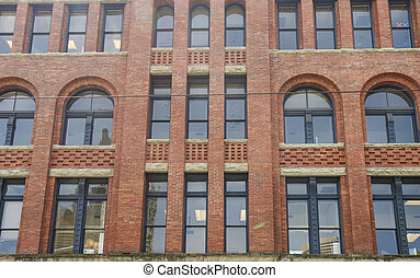 Old Brick Building with Paladium Windows