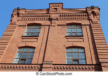 brick industrial building