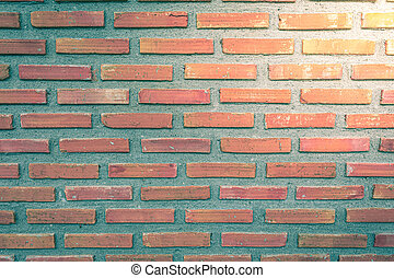 Old brick wall block background