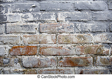 Old brick wall, bric pattern, building background