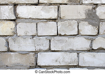 Old brick wall, bric pattern, building element