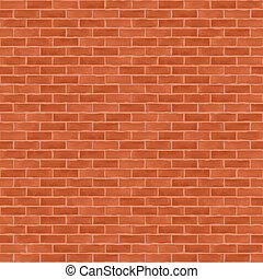 Old Brick Wall - Old brick wall, vector eps10 illustration