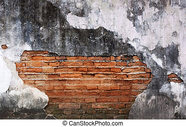 Old brick wall.