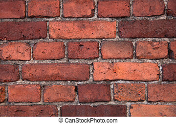 Old brick wall, for backgrounds or textures