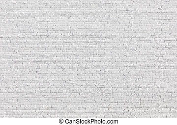 old  brick wall painted in white