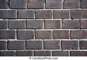 Old brick wall. Picture can be used as a background