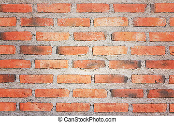 Old brick wall texture,Vintage effect