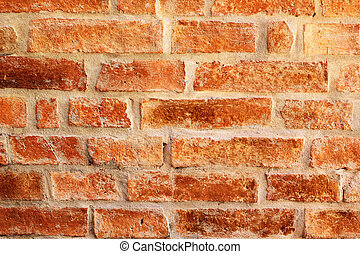 Old brick wall, vintage style.