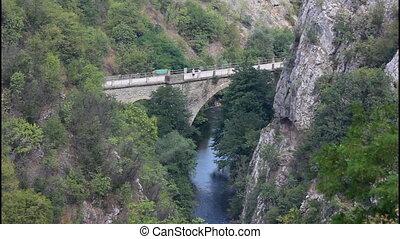 Old bridge, canyon