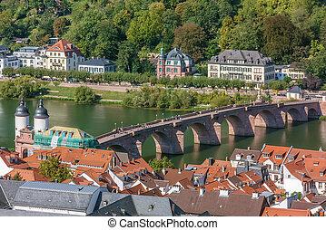 Old Bridge in Heidelberg, Germany