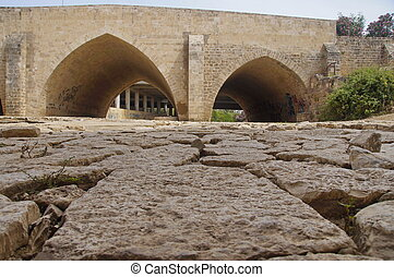 old bridge in Israel, survived the war with Egypt