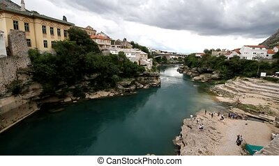 Old bridge in Mostar