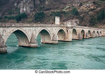 Old bridge in Visegrad