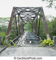 old bridge, San Diego de Los Banos, Pinar del Rio Province, Cuba