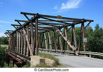 Old Bridge - Old bridge in rural New Brunswick, Canada.