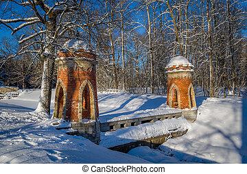 Old bridge towers