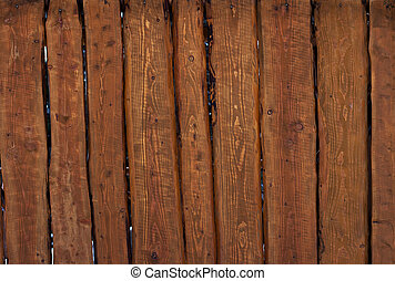 Old brown boards. Background of wooden boards