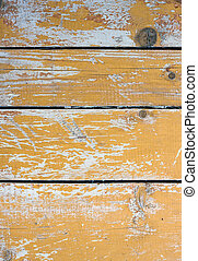 Old brown cracked boards wooden background texture