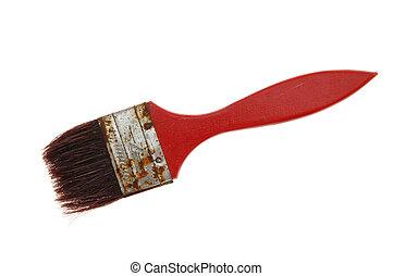 old brush