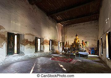 Old buddist temple