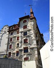 Old building, Geneva, Switzerland