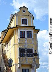 Old building in Bratislava.